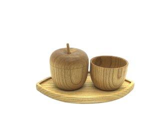 リンゴのポットセット【受注制作】の画像