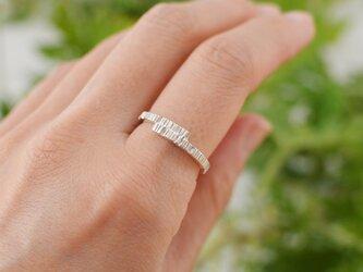 樹皮のリング:silver950の画像