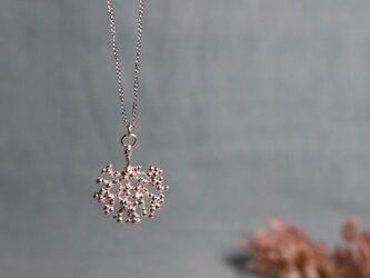 ○受注制作○Silver necklace「Shadow」の画像
