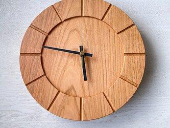木の時計01(Φ240) No29 | 山桜の画像