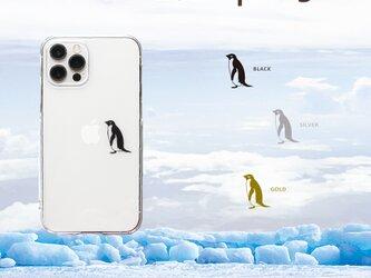 ポツンとアデリーペンギン iPhoneケース12Pro 〜各種の画像