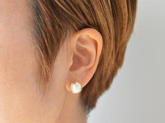 つぼみのピアス:片耳:silver925の画像