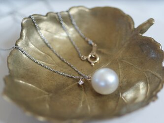 【one+】Pt southseapearl necklaceの画像
