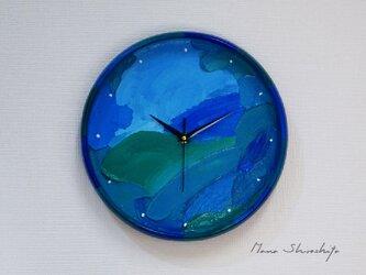 海の壁掛け時計(碧海 )の画像