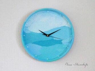 海の壁掛け時計(凪 )の画像
