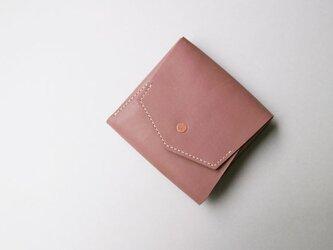 スクエア財布 BROWN (牛革カーフ)の画像