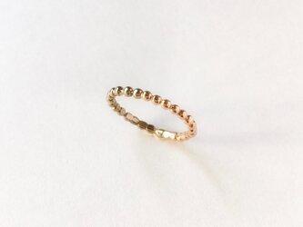 【PK18】【WK18】2色のつぶのリングの画像
