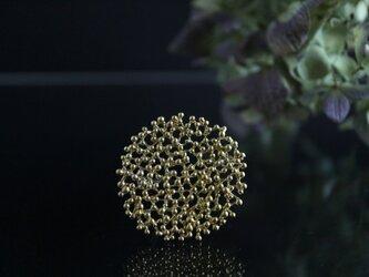 Brass brooch「Winter sigh」の画像