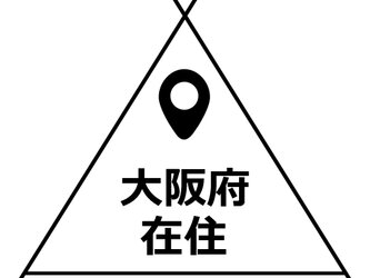 (31-39) 在住 ステッカー 栃木県 14cm×14cmの画像