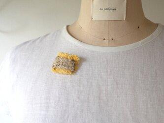 ♡半額sale♡布プリーツブローチ pli carb jgtの画像