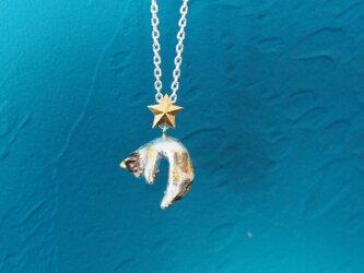 星と旅する脱力三毛猫のペンダントの画像