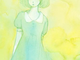 ポストカードセット 少女の画像
