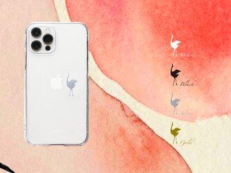 りんごとダンスする鶴 iPhoneケース12Pro 〜各種の画像