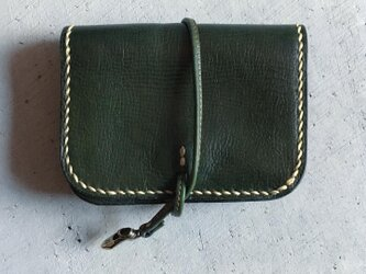 ACCORDION WALLET SMALL  GREENの画像