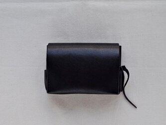 小型財布 黒の画像