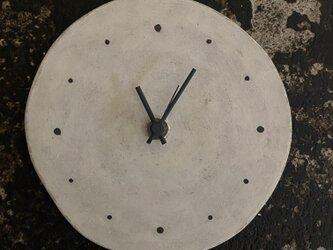 丸時計 陶器製の画像