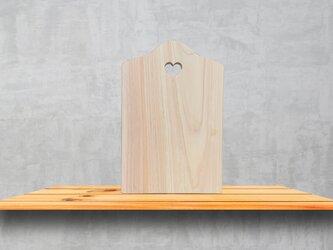 ヒノキのミニカッティングボードの画像