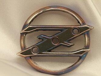 フェアレディZエンブレムキーホルダー高級希少金属コバルト製 車バイクエンブレムシリーズの画像