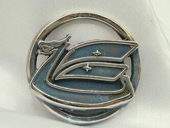 セリカエンブレムキーホルダー高級希少金属コバルト製の画像
