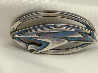 ハリアーエンブレムキーホルダー高級希少金属コバルト製の画像