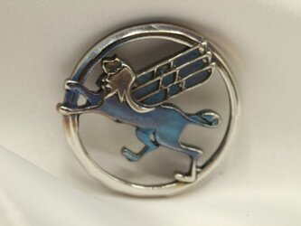 ソアラ エンブレムキーホルダー高級希少金属コバルト製の画像