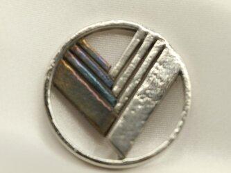 ユーノス エンブレムキーホルダー高級希少金属コバルト製の画像