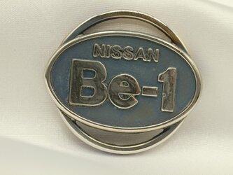 Be-1エンブレムキーホルダー高級希少金属コバルト製の画像