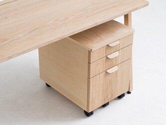 <work talk desk> デスクワゴン(受注制作)の画像