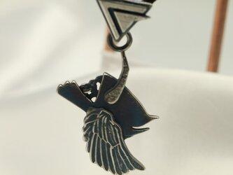死神モチーフ ペンダントトップ 高級希少金属コバルトの画像