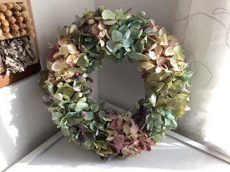 atelierBLUGRA八ヶ岳〜秋の紫陽花Wreath02の画像