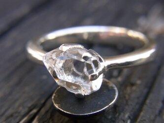 ハーキマーダイヤモンドリングの画像
