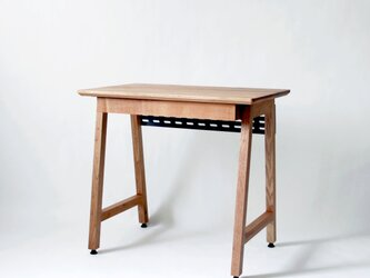 <work talk desk>リモートワーク向けデスク 800x500サイズ+引き出しx1(受注生産)の画像