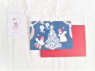 「ノエル・フルール」クリスマスカードセットの画像