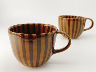 練り込みマグカップ stripeの画像