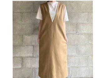 jumper skirt(beige)の画像