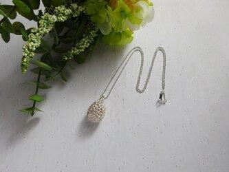 ぷっくり木の実のネックレスの画像
