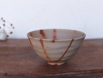 備前焼 飯碗・ひだすき(大) m1-051の画像