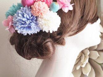 funwariマムと和玉ボールの髪飾り12点Set No777 和装 成人式の画像
