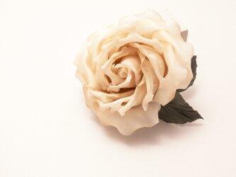 """Corsage : コサージュ """" The Rose. """" (アンティークベージュ)の画像"""
