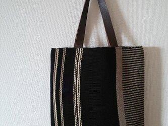 A4サイズ対応  軽量 畳み織りショルダーバッグ 「真夜中のカーテン」の画像
