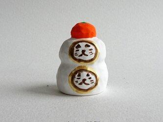 丸ねこ鏡餅4(鶏口舎キャスト)の画像