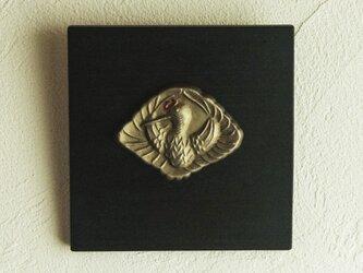 縁起物パネル 鶴の画像