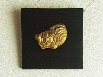 縁起物パネル 亀の画像