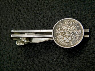 #T3  UK Coin Tie pinの画像