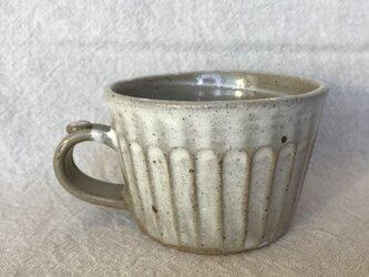 粉ひきのマグカップ(中しのぎ柄)の画像
