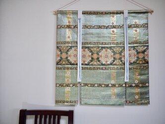 帯タペストリー 吉祥紋の画像