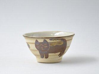 ハチワレネコ お茶碗 小3の画像