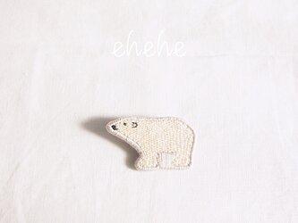 Polar-polarbearブローチの画像