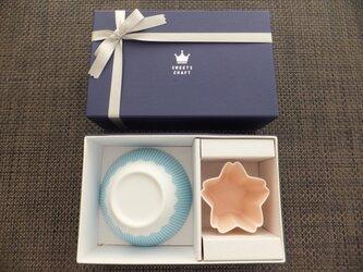 富士山マルチボール + サクラ セット  専用 GIFT BOX 入りの画像