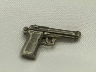 1/12 M92Fベレッタ 高級希少金属コバルト製 フィギュア用の画像